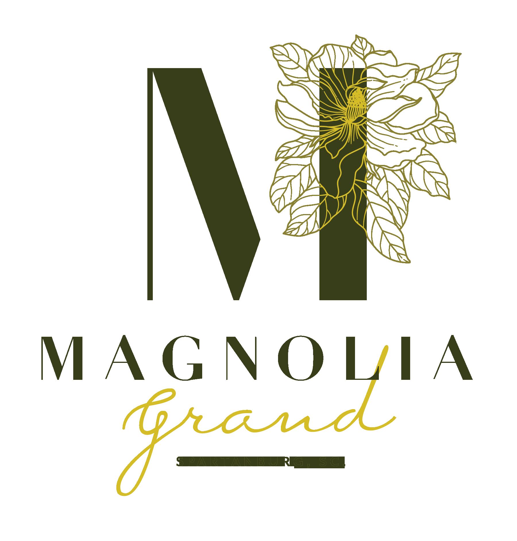 Magnolia Grand Monogram Logo